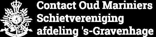Contact Oud Mariniers Schietvereniging afdeling 's-Gravenhage
